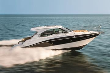 Water Shot of a Cruisers Yachts 41 Cantius