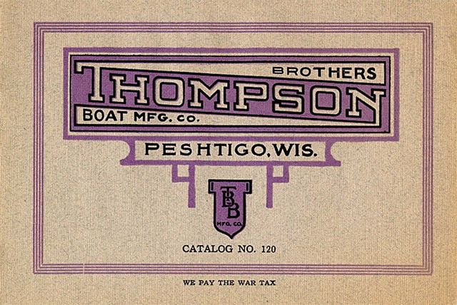 1904 Thompson Boat Cover